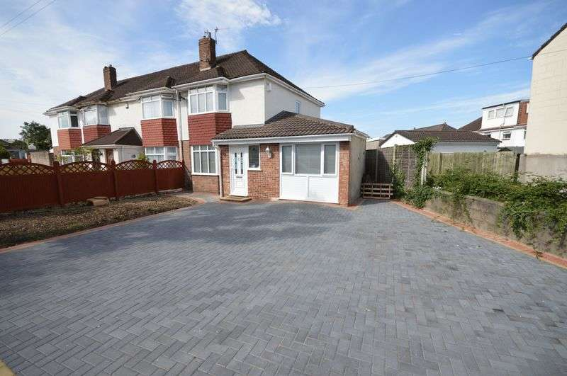 3 Bedrooms Semi Detached House for sale in Headley Park Avenue, Bristol