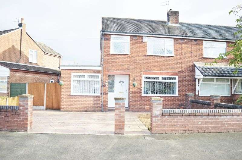 3 Bedrooms Semi Detached House for sale in Ruskin Avenue, Denton, Manchester