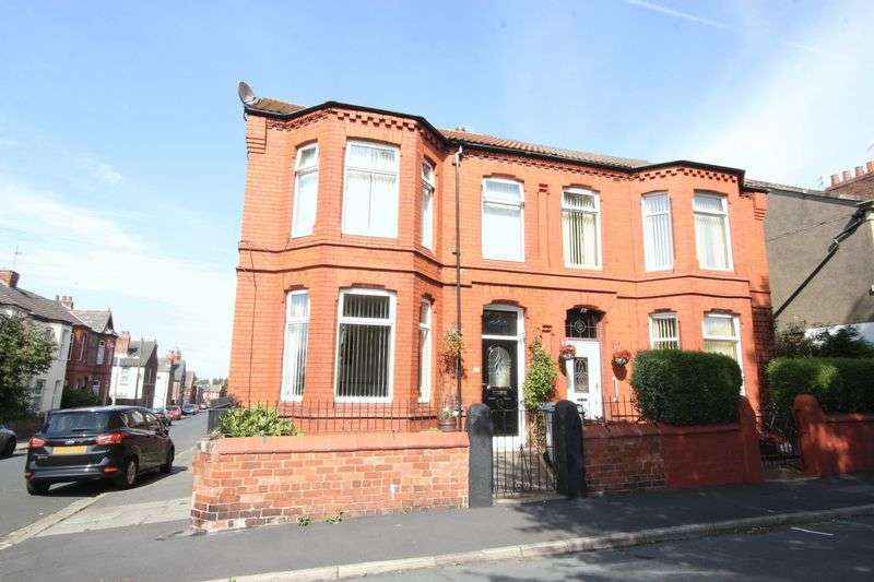 4 Bedrooms Semi Detached House for sale in Beech Road, Birkenhead, Wirral