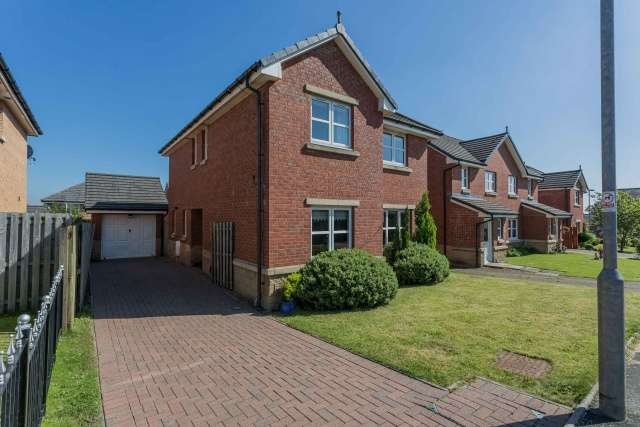 4 Bedrooms Detached House for sale in Brambling Road, Carnbroe, Coatbridge, North Lanarkshire, ML5 4UP