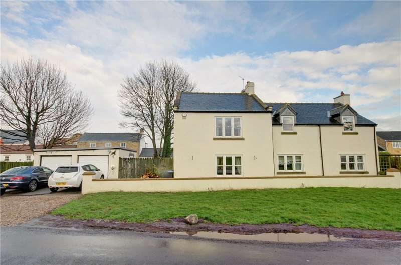 4 Bedrooms Detached House for sale in The Green, Hett Village, Durham, DH6
