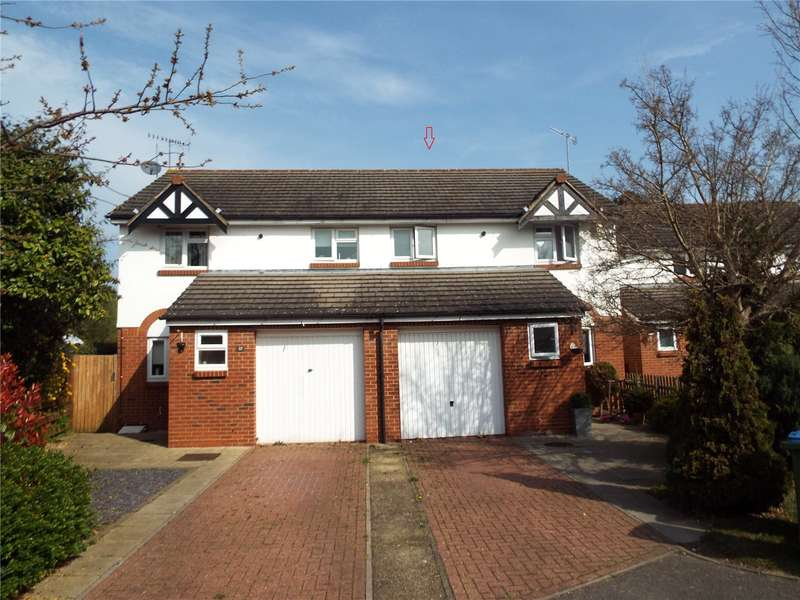 3 Bedrooms Semi Detached House for sale in Eyston Drive, Weybridge, Surrey, KT13
