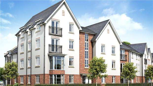 2 Bedrooms Apartment Flat for sale in Greyfriars Court, London Road, Wokingham