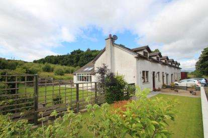 3 Bedrooms Semi Detached House for sale in Pleanbank Cottages, Plean