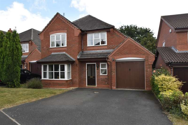4 Bedrooms House for sale in Nightingale Close, Droitwich
