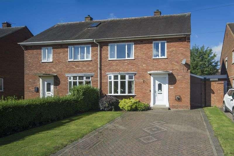 3 Bedrooms Semi Detached House for sale in Warstones Drive, Penn, Wolverhampton