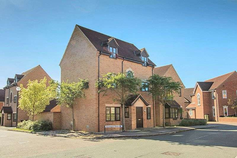 4 Bedrooms Detached House for sale in Levens Hall Drive, Westcroft, Milton Keynes