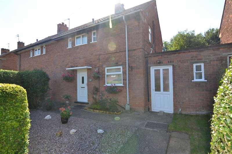 2 Bedrooms Semi Detached House for sale in Southfield Road, Burton Manor, Stafford