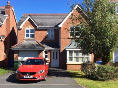 4 Bedrooms Detached House for sale in Chapelside Close, Great Sankey, Warrington, Cheshire