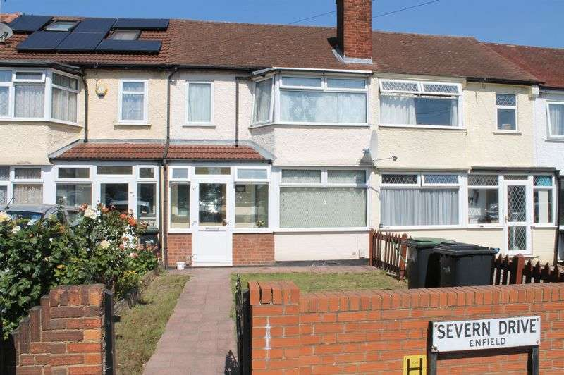 3 Bedrooms Terraced House for sale in Severn Drive, Enfield