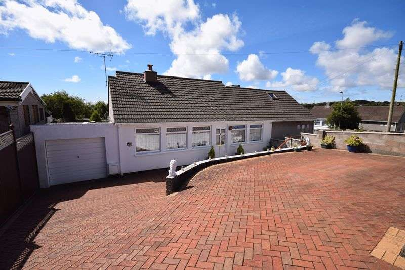 3 Bedrooms Semi Detached Bungalow for sale in 68 Burns Crescent, Bridgend CF31 4PY