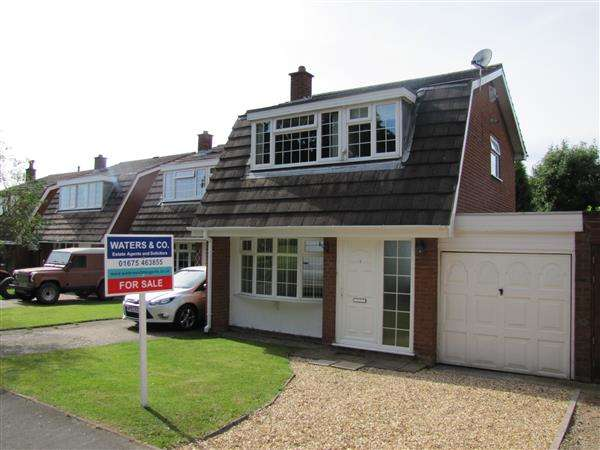 3 Bedrooms Link Detached House for sale in Birchfield Close, Wood End