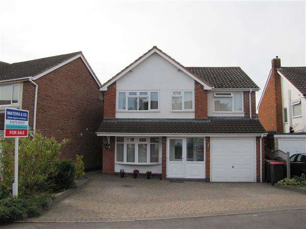 4 Bedrooms Detached House for sale in Burman Drive, Coleshill