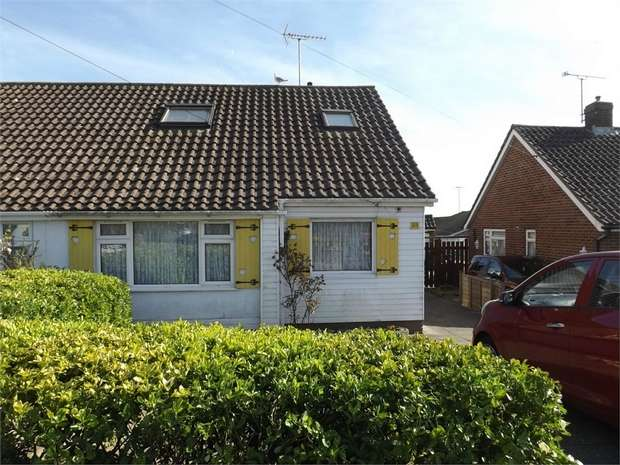 2 Bedrooms Semi Detached Bungalow for sale in Moorfoot Road, Worthing, West Sussex