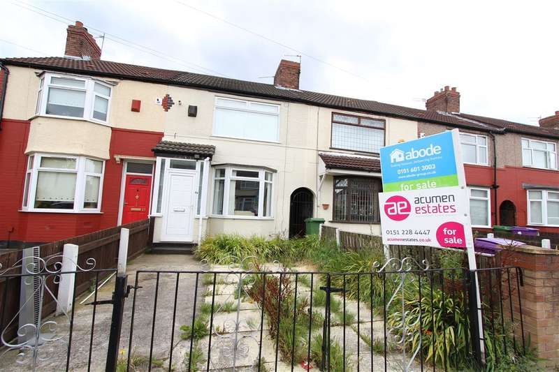 3 Bedrooms Terraced House for sale in Max Road, Dovecot, Liverpool