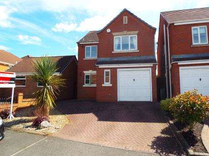 3 Bedrooms Detached House for sale in Millers Walk, Pelsall, Walsall, West Midlands
