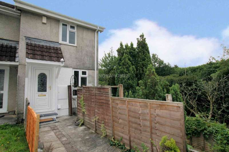2 Bedrooms Semi Detached House for sale in Jackson Close, Weston Mill,Plymouth, PL5 1AS
