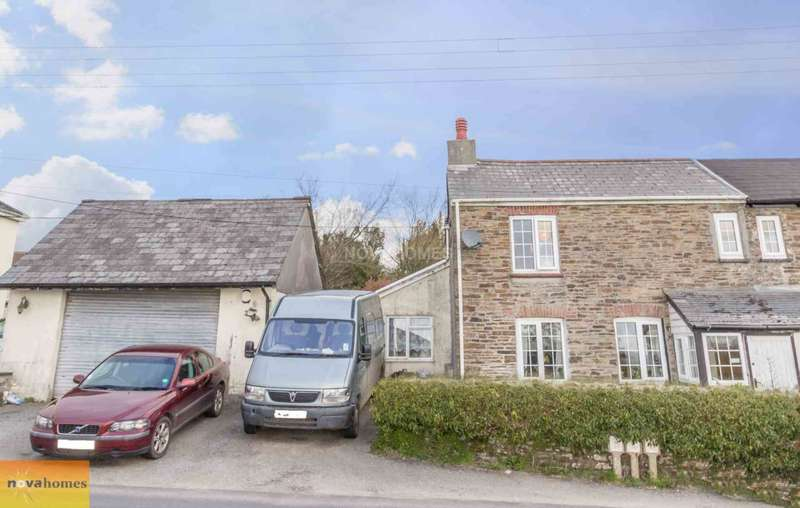 4 Bedrooms Semi Detached House for sale in Cherry Tree Cottage, Pensilva, PL14 5NQ