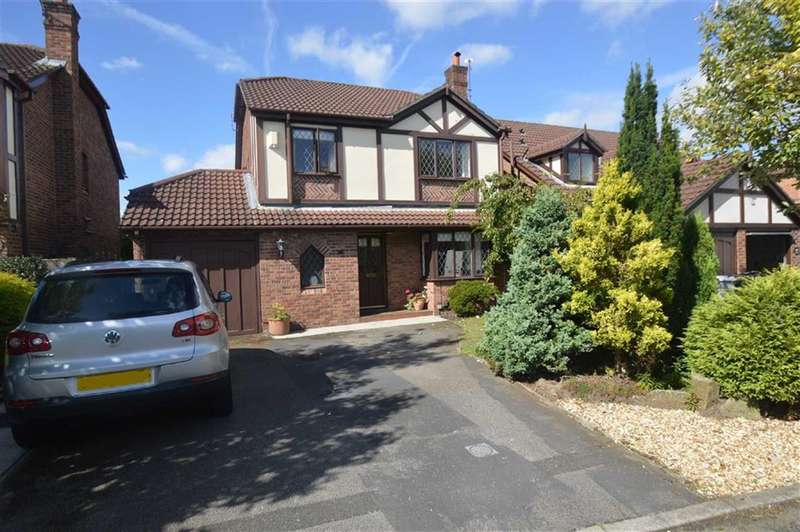 4 Bedrooms Property for sale in Moorlands Close, Macclesfield