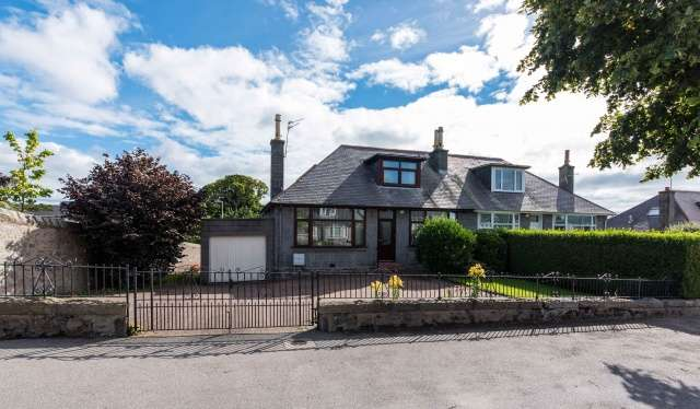 3 Bedrooms Semi Detached Bungalow for sale in Hilton Drive, Aberdeen, Aberdeenshire, AB24 4NP