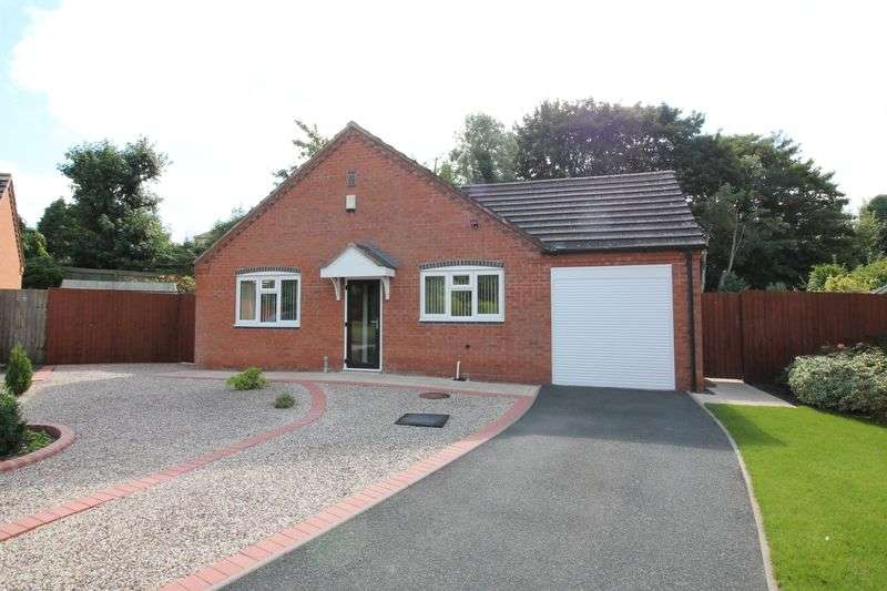 3 Bedrooms Detached Bungalow for sale in New Church Close, Wellington, Telford