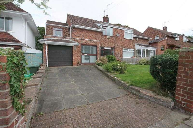 4 Bedrooms Semi Detached House for sale in Buttermere Avenue, Prenton
