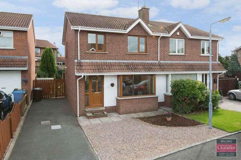 3 Bedrooms Semi Detached House for sale in 5 Meadow Walk, Ballygowan, BT23 5XX
