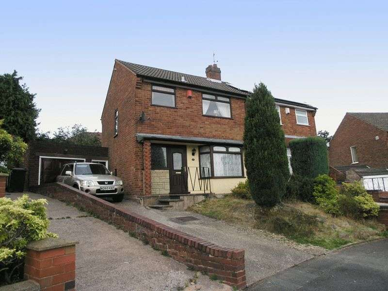 3 Bedrooms Semi Detached House for sale in BRIERLEY HILL, Quarry Bank, Wychbury Road