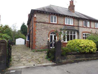 3 Bedrooms Semi Detached House for sale in Cecil Road, Hale, Altrincham, Greater Manchester