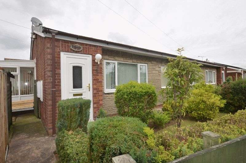 2 Bedrooms Semi Detached Bungalow for sale in Kent Drive, Hibaldstow, Brigg
