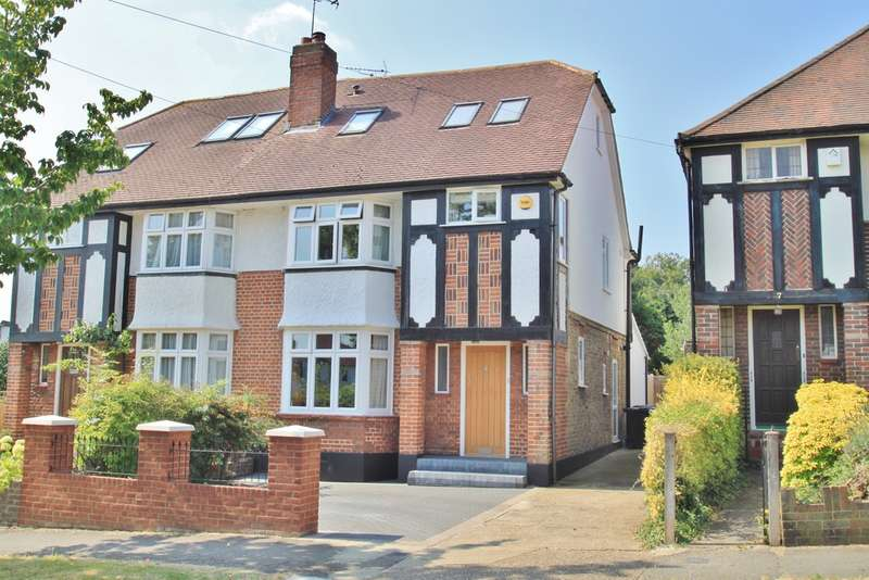 5 Bedrooms Semi Detached House for sale in The Roystons, Surbiton