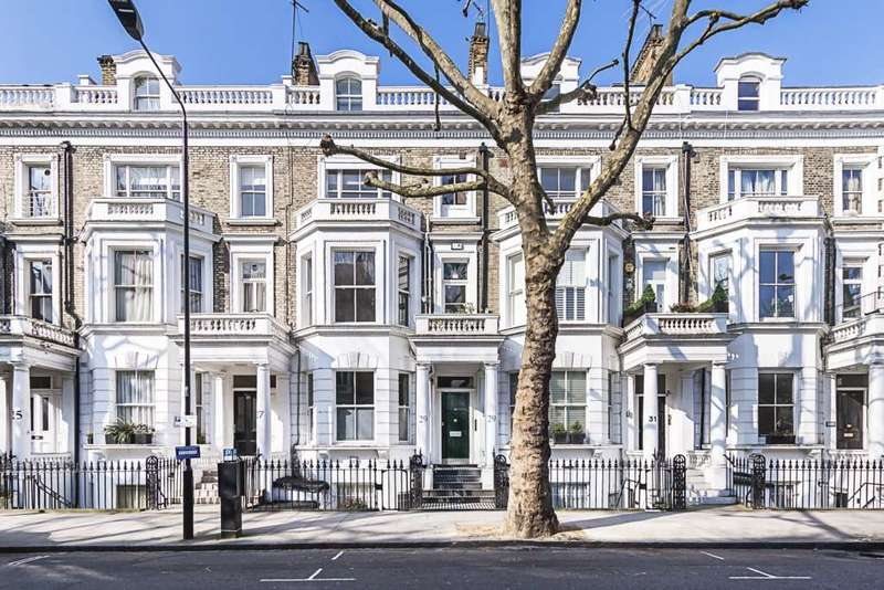 3 Bedrooms Maisonette Flat for sale in Marloes Road, London