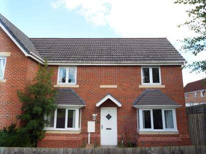 3 Bedrooms Semi Detached House for sale in Tuffleys Way, Thorpe Astley, Leicester, Leicestershire