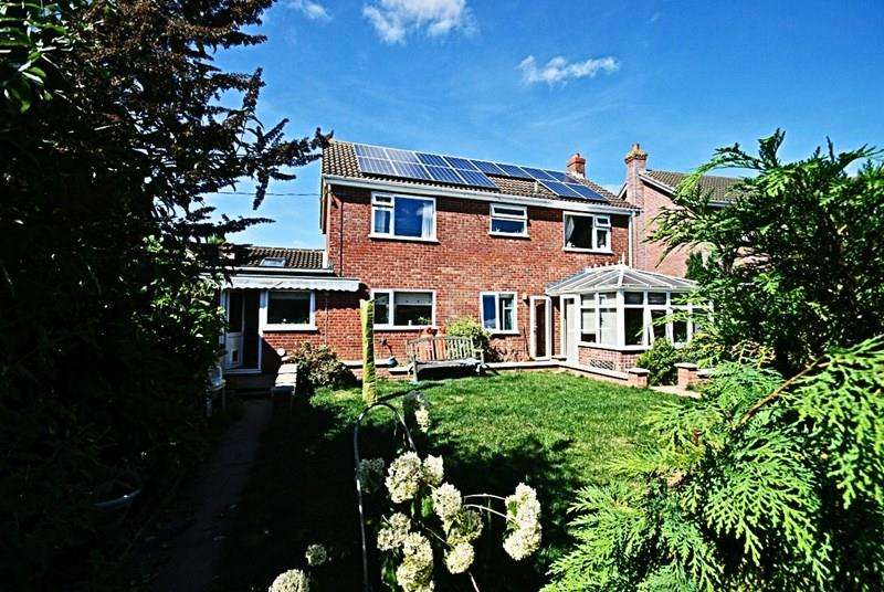 4 Bedrooms Link Detached House for sale in Church Road, Aslacton, Norwich