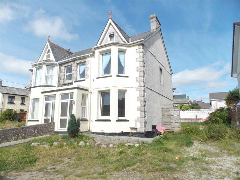 4 Bedrooms Semi Detached House for sale in Eddystone Road, St Austell
