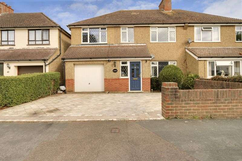 4 Bedrooms Semi Detached House for sale in Hanworth Road, Redhill. RH1 5HT