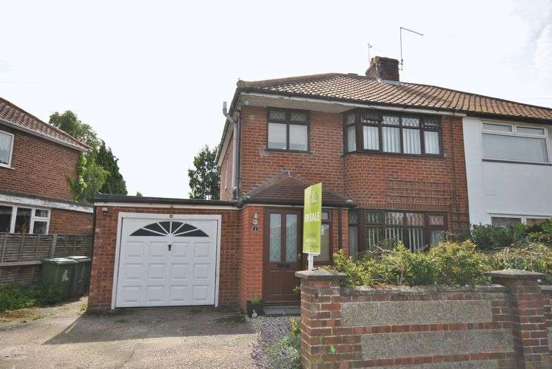 3 Bedrooms Semi Detached House for sale in Heather Avenue, Norwich