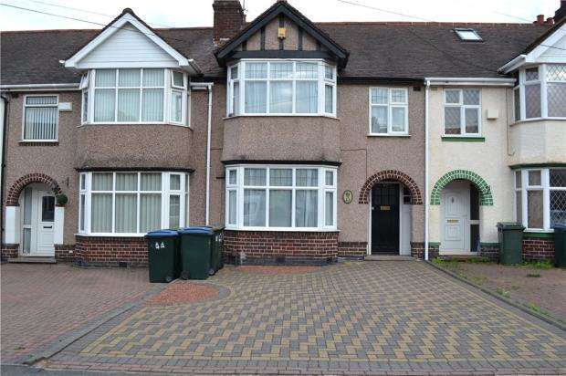 3 Bedrooms Terraced House for sale in Grenville Avenue, Stoke, Coventry, West Midlands