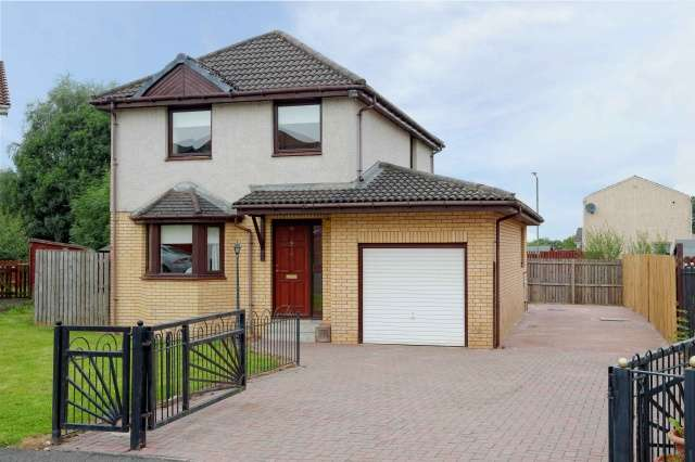3 Bedrooms Detached Villa House for sale in Crieff Avenue, Chapelhall, Airdrie, North Lanarkshire, ML6 8HD