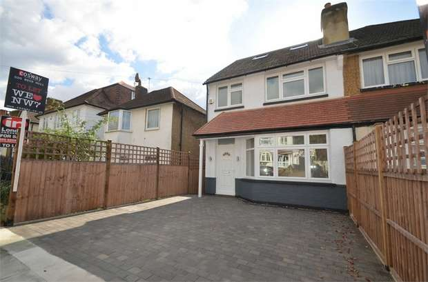 4 Bedrooms Semi Detached House for sale in Milton Road, Mill Hill