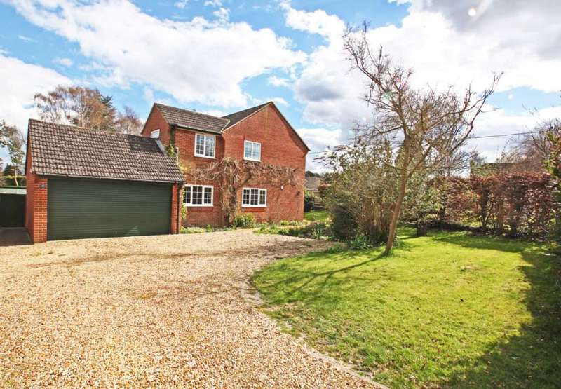 4 Bedrooms Detached House for sale in Westfield, Harwell