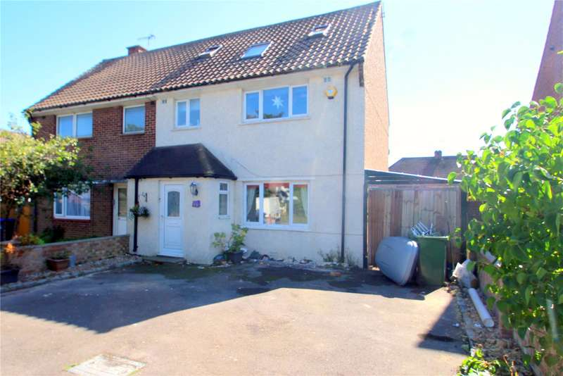 3 Bedrooms Semi Detached House for sale in Fetherston Road, Lancing, West Sussex, BN15