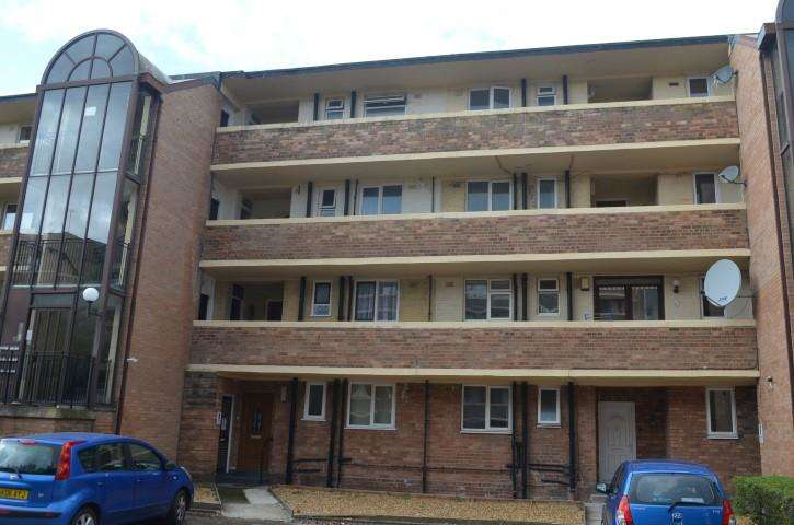 2 Bedrooms Apartment Flat for sale in Minster Court, Liverpool, Merseyside, L7