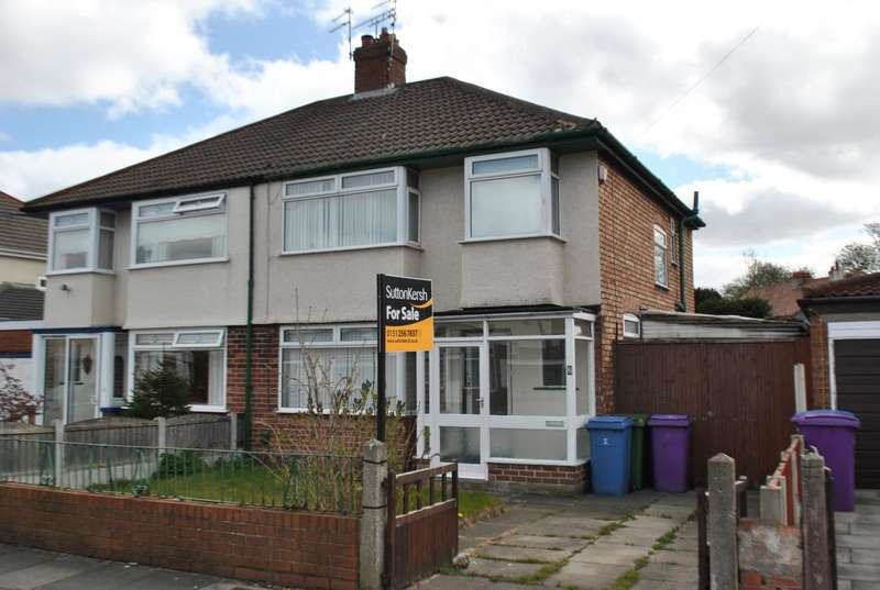 3 Bedrooms Semi Detached House for sale in Vineside Road, West Derby, Liverpool, L12