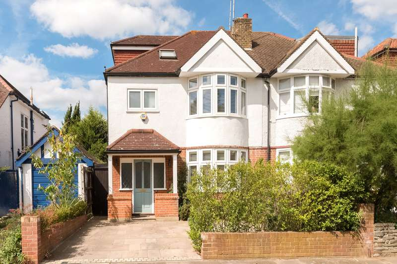 4 Bedrooms Semi Detached House for sale in Park Road, London, W4