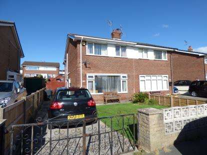 3 Bedrooms Semi Detached House for sale in Bryn Ffynnon, Llandudno Junction, Conwy, LL31