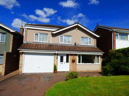 4 Bedrooms Detached House for sale in Dalebrook Road, Burton-On-Trent, Staffordshire