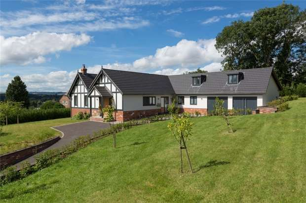 4 Bedrooms Detached House for sale in Guy Harlings, New Road, Ludlow, Shropshire