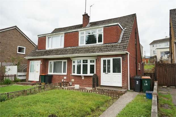 3 Bedrooms Semi Detached House for sale in Alder Grove, NEWPORT