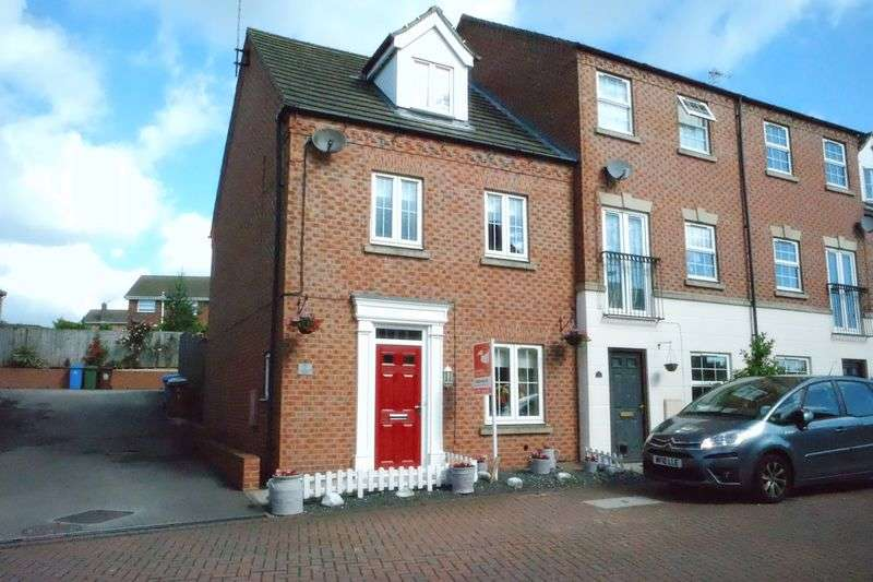4 Bedrooms Semi Detached House for sale in Rufford Drive, Mansfield Woodhouse